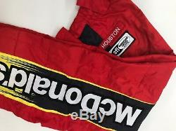 NASCAR Race Used Sparco Fire Suit SFI 3-2A/5 C44/W34/L30 Ganassi McMurray