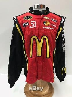 NASCAR Race Used Sparco Fire Suit SFI 3-2A/5 C46/W38/L31 Ganassi McMurray