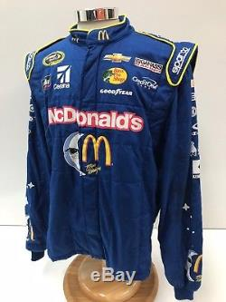 NASCAR Race Used Sparco Fire Suit SFI 3-2A/5 C48/W38/L31 Ganassi McMurray