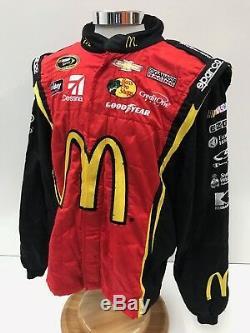 NASCAR Sparco 2 pc Ganassi Race Used Fire Suit SFI 3-2A/5 C46/W36/L31