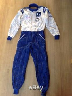 NEW Sparco Racing Suit Size 56 FIA 8856 2000 Gigawave Motor Sport 2008 Le Mans