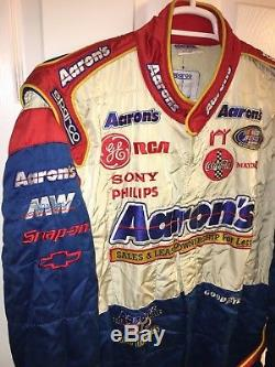 Nascar DRIVER Fire Suit MICHAEL WALTRIP SFI Aaron's Chevy FIA Sparco Race Used