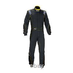 New SPARCO EAGLE RS-8 black Race Suit (FIA homologation) 48