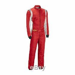 New Sabelt Challenge TS-3 Race Suit Red (FIA homologation) 54