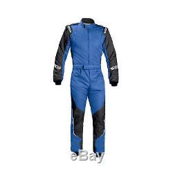 New Sparco Energy RS-5 Race Suit blue/black (FIA homologation) 58