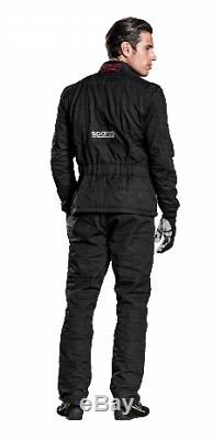New Sparco Meta MS-D FIA technical jacket Race Kart Track coat 002013JNR3L Large