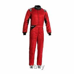 New Sparco SPRINT MY20 Race Suit Red (FIA homologation) 52