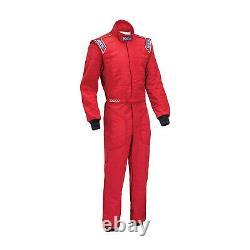 New Sparco SPRINT RS-2 Red Race Suit (FIA homologation) 54