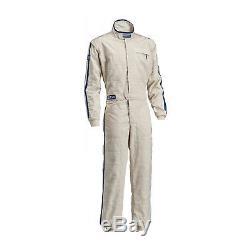 New Sparco VINTAGE CLASSIC Ecru Race Suit (FIA) 58