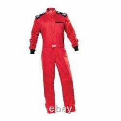OMP Racing BLAST EVO MY2021 Mechanics Suit red size 52