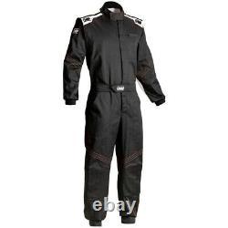 OMP Racing BLAST EVO Mechanics Suit black size 52