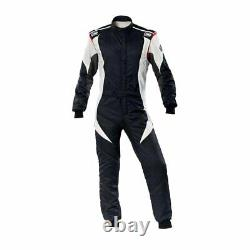 OMP Racing FIRST-EVO Racing Race Suit black (FIA Approved) size 56