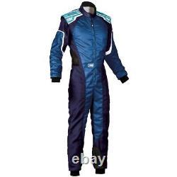 OMP Racing KS-3 Karting Kart Suit blue (CIK FIA Approved)