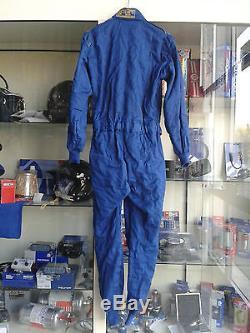 Occasione Tuta Auto Sparco Usata Taglia 52 Blu Prima Racing Used Suit Size 52