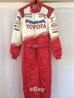 Panasonic Denso Toyota Sparco Promo F1 team Issue race suit 52 Schumacher Glock