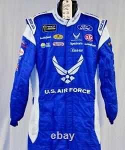 Petty Air Force Sparco SFI-5 Race Used NASCAR Pit Crew Fire Suit #6043