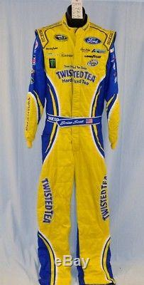 Petty Brian Scott Twisted Tea Race Used Sparco NASCAR DRIVER SUIT #5799 40/34/34