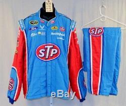 Petty STP Almirola Race Used Sparco SFI-5 NASCAR Racing Suit #5696 52/40/29