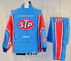 Petty STP Almirola Race Used Sparco SFI-5 NASCAR Racing Suit #5699 40/30/31