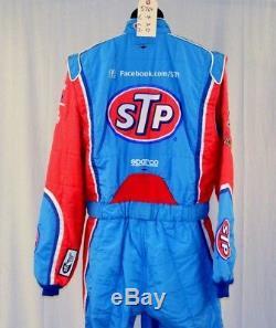 Petty STP Almirola Race Used Sparco SFI-5 NASCAR Racing Suit #5769 44/36/37