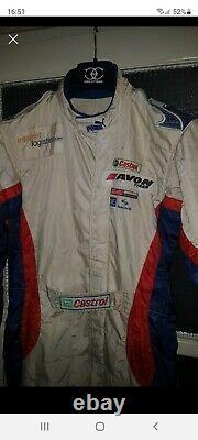 Puma Fia 8856-2000 race suit sparco omp