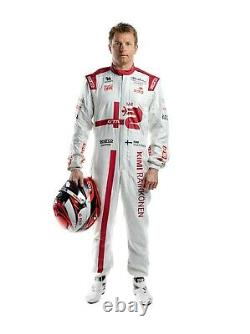 R A R E! 2021 Kimi RAIKKONEN Alfa Romeo F1 Sparco race used and SIGNED suit