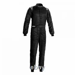 Race Rally Racing Suit Sparco SPRINT (FIA SFI Approved) black size 48