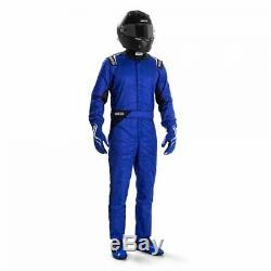Race Rally Racing Suit Sparco SPRINT (FIA SFI Approved) blue size 60