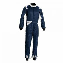 Race Rally Racing Suit Sparco SPRINT (FIA SFI Approved) navy size 54