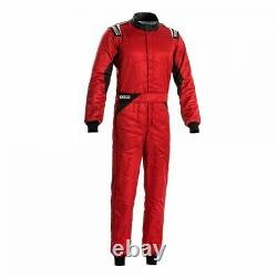 Race Rally Racing Suit Sparco SPRINT (FIA SFI Approved) red size 52