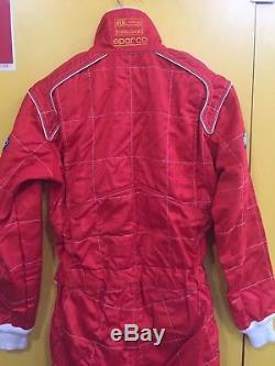 Race Suit Sparco Alfa Romeo