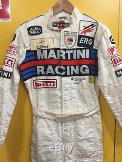 Race Suit Sparco Pietro Brigato Club Italia Martini Racing