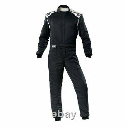 Racing Race Rally Suit OMP Racing FIRST-S (FIA Approved) black size 50