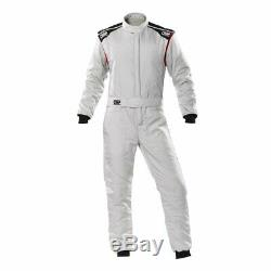 Racing Race Rally Suit OMP Racing FIRST-S (FIA Approved) gray size 52