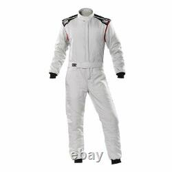 Racing Race Rally Suit OMP Racing FIRST-S (FIA Approved) gray size 56