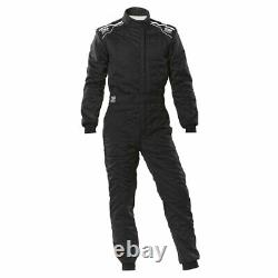 Racing Race Rally Suit OMP Racing SPORT (FIA Approved) black size L