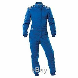 Racing Race Rally Suit OMP Racing SPORT (FIA Approved) blue size L
