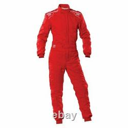 Racing Race Rally Suit OMP Racing SPORT (FIA Approved) red size M