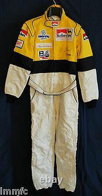 Racing SUIT Tuta RACING SPARCO Thomas BIAGI F3 BVM Dallara Mugen signed