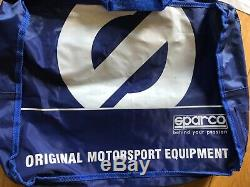 Rare Marussia F1 Team Race Used Pit Crew Suitrare Sparco Pit Crew Suit+bag