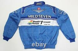 Rare Sparco Benetton Renault F1 90s Schumacher Racing Jacket Suit, Made in Italy