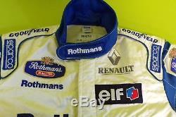 Rothmans Williams Renault F1 Team Issue Mechanics Race Suit Mens Sparco 1996