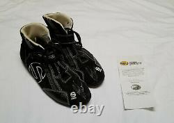 Ryan Newman #3 NASCAR Truck Series Signed Auto Sparco Race Worn Suit Shoes COA