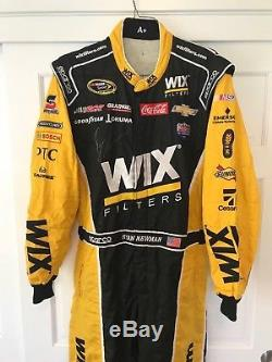 Ryan Newman, Childress Racing, Signed Race Used Wix Drivers Suit, Sparco Suit