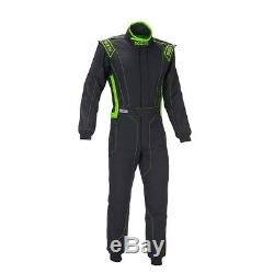 SPARCO 001129H56NRVF VICTORY RS-4 Racing Suit Large-Grey/Green