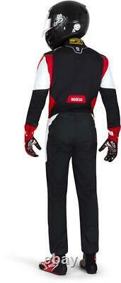 SPARCO COMPETITION PRO FIA SFI Racing Suit Rally 2021 NEW RACE black red 48-66