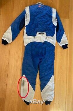 SPARCO EAGLE RS-8 BLUE Race Suit (FIA homologation) Genuine Size 54