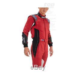 SPARCO EAGLE RS-8 red Race Suit (FIA homologation) Genuine 56