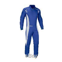 SPARCO ERGO RS-3 blue Race Suit (FIA homologation) Genuine 50