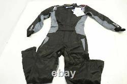 SPARCO KS-5 RACE SUIT KART Racing Jacket Pants Black with Grey ADULT XS NEW